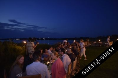 Cointreau & Guest of A Guest Host A Summer Soiree At The Crows Nest in Montauk