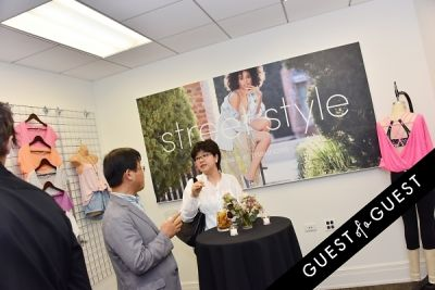 stacey lawrence-lee in Maurices Design NYC Offices Grand Opening
