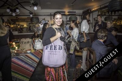BR Guest Hospitality and Lauren Bush Lauren Celebrate a Fiesta for FEED at Dos Caminos Times Square