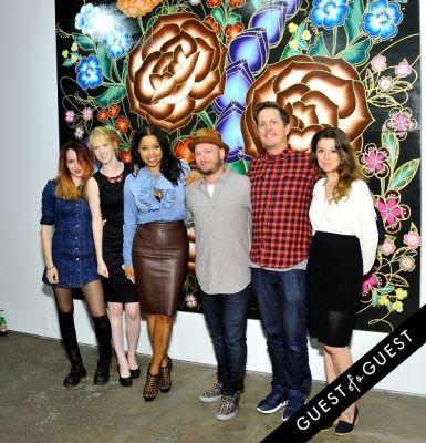 Joseph Gross Gallery Flores en Fuego Opening Reception