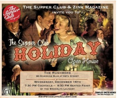 The Supper Club NY & Zink Magazine Host a Winter Wonderland Open House Party