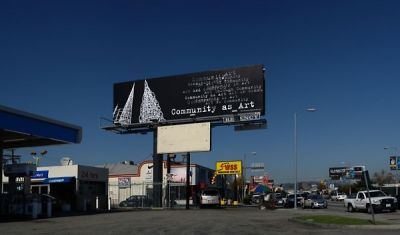 eugenia gonzalez in Billboard Art Project