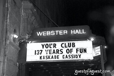 Webster Hall Relaunch Party