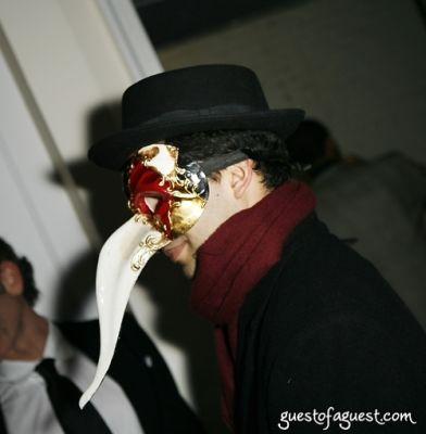 rupert murdoch in Masquerade christmas party