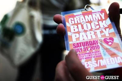 Grammy Block Party