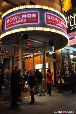 Grand Opening of Bowlmor Times Square