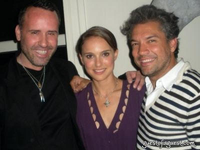 Interview Party with Natalie Portman