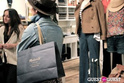 Opening of the Madewell South Coast Plaza Store