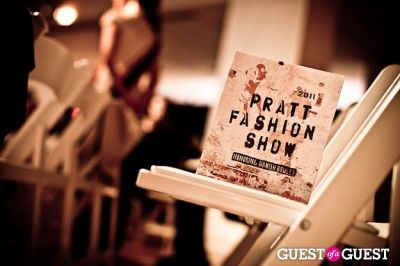 The Pratt Fashion Show with Honoring Hamish Bowles with Anna Wintour 2011