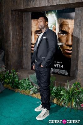 50 cent in After Earth Premiere
