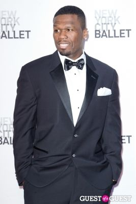 50 cent in New York City Ballet's Fall Gala