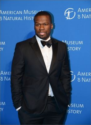 50 cent in American Museum of Natural History Gala 2014