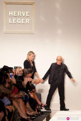 Herve Leger Runway Show- NYC Fashion Week