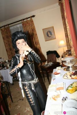 ezra nasser in Lovecat Magazine Halloween Dinner Hosted by Jessica White and Byrdie Bell