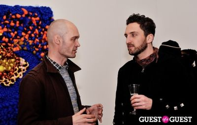 adam lippes in Vanity Disorder exhibition opening at Charles Bank Gallery
