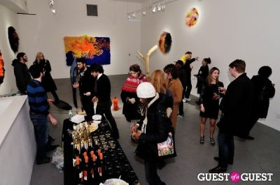 elizabeth hirsch in Vanity Disorder and Mixed Signals closing reception