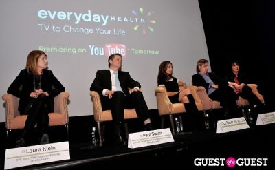 lennon ficalora in Everyday Health YouTube Channel launch event