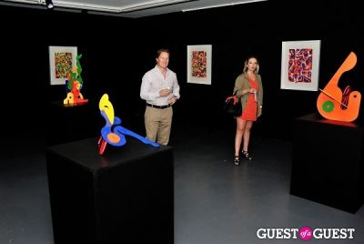 clothes make-the-women in Young Art Enthusiasts Inaugural Event At Charles Bank Gallery