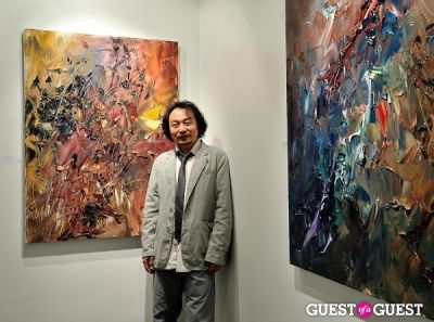Unseen Forest - New Paintings by Chen Ping opening