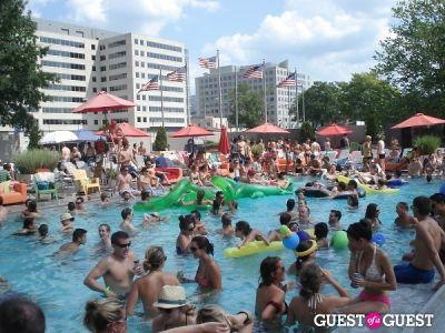brad goreski in BYT Rave Camp II Pool Party
