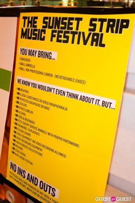 Sunset Strip Music Festival 8/18
