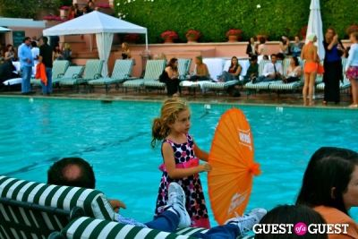 Cointreau and The Aqualillies at The Beverly Hills Hotel