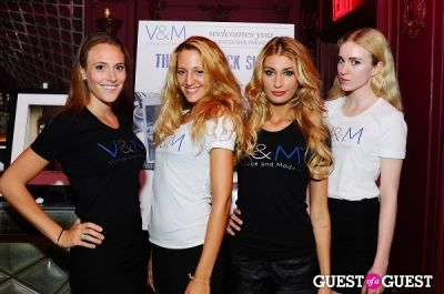 sonja morgan in V&M and Andy Hilfiger Exclusive Preview Event of The V&M Rock Shop