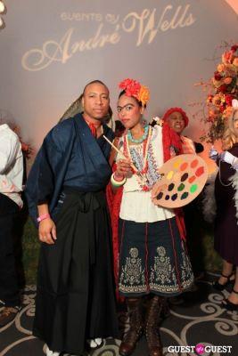 heidi klum in Andre Wells Costume Gala