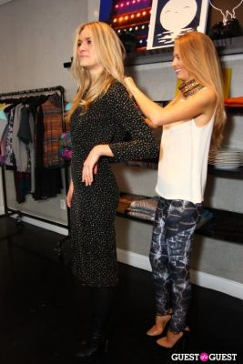 ally hilfiger in Natty Style at Cynthia Rowley Private Shopping Event