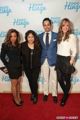 Arrivals -- Hinge: The Launch Party