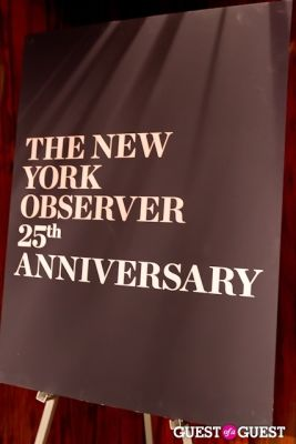 The New York Observer 25th Anniversary