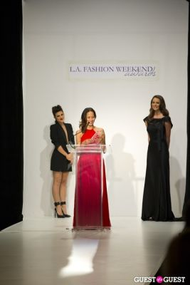 demi moore in L.A. Fashion Weekend Awards