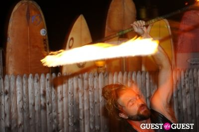 surfing in The Sloppy Tuna's Fire and Ice Party