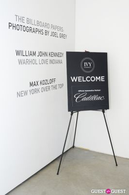 IvyConnect Gallery Reception at Steven Kasher Gallery