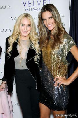 Lindsay Lohan at Victoria's Secret Fragrance Launch