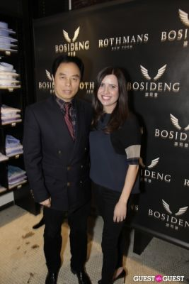 vince vaughn in Bosideng Pop-up Shop at Rothmans