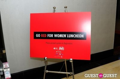 The 2014 AMERICAN HEART ASSOCIATION: Go RED For WOMEN Event