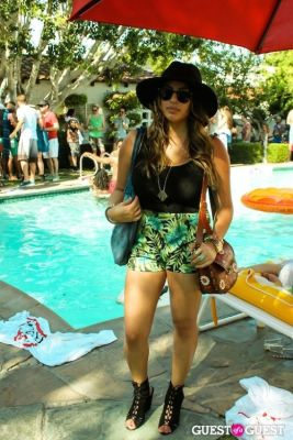 all saints in Coachella: GUESS HOTEL poolside celebration in Palm Springs 2014