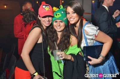 abby davids;-jacquie-harrison in Nick's Riverside Grill Halloween Party