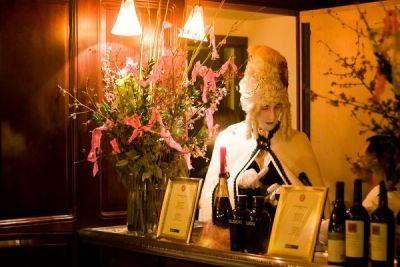 adam aleksander in The Supper Club NY's Marie Antoinette Boudoir