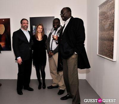 adam greenberger in Garrett Pruter - Mixed Signals exhibition opening
