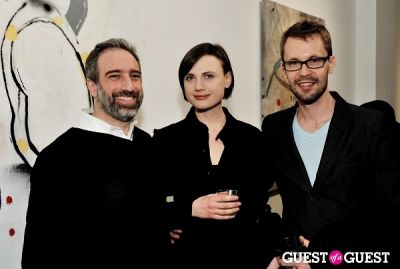 adam greenberger in Port and Out of Context Exhibition Opening