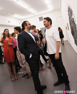 ethan breckenridge in Third Order exhibition opening event at Charles Bank Gallery