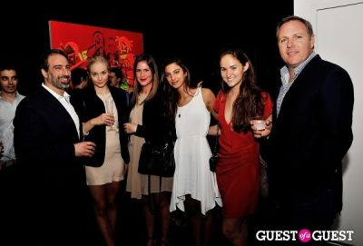 adam greenberger in Young Art Enthusiasts Inaugural Event At Charles Bank Gallery