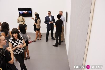 michael bank-christoffersen in Third Order exhibition opening event at Charles Bank Gallery
