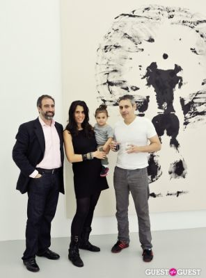 stephanie tricola in Mauro Bonacina exhibition opening reception