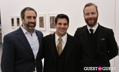 michael bank-christoffersen in Bowry Lane group exhibition opening at Charles Bank Gallery