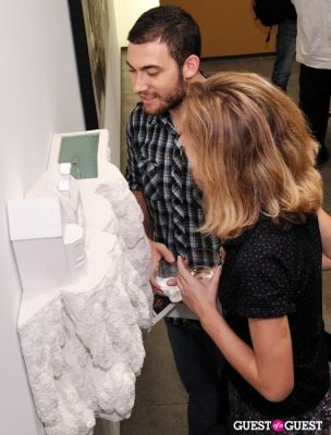 chloe cunha in Ronald Ventura: A Thousand Islands opening at Tyler Rollins Gallery