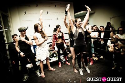 adam nelson in Celebrity Fight4Fitness Event at Aerospace Fitness