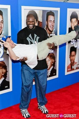 shaquille o-neal in Grown Ups 2 premiere